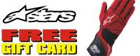 Alpinestars Gloves Free eGift Card Promotion