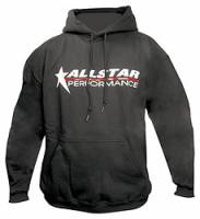 Crew Apparel - Allstar Performance - Allstar Performance Hooded Sweatshirt - Black - Youth Large