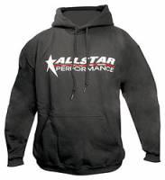 Crew Apparel - Allstar Performance - Allstar Performance Hooded Sweatshirt - Black - Youth Medium