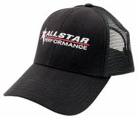Crew Apparel - Hats - Allstar Performance - Allstar Performance Hat - Black - With Mesh Back