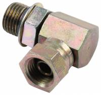 AN O-Ring Port Fittings and Adapters - 90° Male AN O-Ring Port to Male Flare Adapters - Allstar Performance - Allstar Performance Replacement 90 Degree Cylinder Fitting
