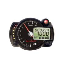 "Memory Tachometers - In-Dash Memory Tachs - Longacre Racing Products - Longacre AccuTech™ DLi™ 4"" Data Logging Stepper Motor Tachometer - 10K"