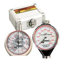 Wheel & Tire Tools - Durometers & Depth Gauges - Longacre Racing Products - Longacre Durometer & Tread Depth Gauge w/ Silver Case