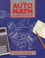 Engine Books - Chevrolet Engine Books - HP Books - Auto Math Handbook - By John Lawlor - HP1020