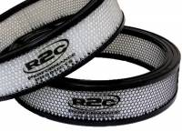 "Air Filter Elements - Universal Round Air Filters - R2C Performance Products - R2C Performance Competition Series Air Filter - Asphalt - 14"" x 3"""