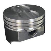 "Pistons & Piston Rings - Hypereutectic Pistons - SB Chevy - KB Performance Pistons - KB Pistons Performance Hypereutectic Flat Top Pistons - SB Chevy 350 - 5.7"" Rod Length, .060"" Over Bore Size"