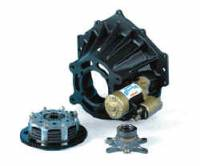 "Bellhousing and Clutch Kits - Magnesium Bellhousing Kits - Tilton Engineering - Tilton UTGC 52 Series Magnesium Monohousing Driveline Package - 3 Plate 5.5"" Metallic Clutch - 1-5/32"" x 26 Spline Clutch Discs - Chevy V8 or 90 V6"
