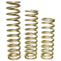 "Landrum Coil-Over Springs - Landrum 10"" x 2-1/2"" I.D. Coil-Over Springs - Landrum Performance Springs - Landrum 10"" Gold Coil-Over Spring - 2.5"" I.D. - 450 lb."