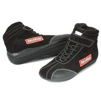 Racing Shoes - RaceQuip Racing Shoes - RaceQuip - RaceQuip Euro Ankletop Racing Shoes - Black - Size 6.5