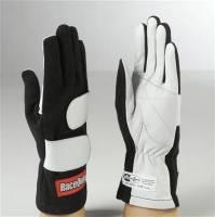 SFI 5 Rated Gloves - RaceQuip Gloves - RaceQuip - RaceQuip Mod Gloves - Black - Medium