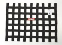 "Ribbon Window Nets - 18"" x 24"" Ribbon Window Nets - RaceQuip - RaceQuip 18"" x 24"" Ribbon Window Net - Black"