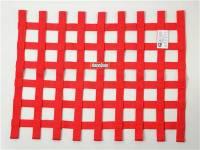 "Ribbon Window Nets - 18"" x 24"" Ribbon Window Nets - RaceQuip - RaceQuip 18"" x 24"" Ribbon Window Net - Red"