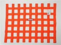 "Ribbon Window Nets - 18"" x 24"" Ribbon Window Nets - RaceQuip - RaceQuip 18"" x 24"" Ribbon Window Net - Orange"