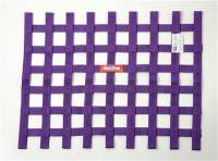 "Safety Equipment - Window Nets - RaceQuip - RaceQuip 18"" x 24"" Ribbon Window Net - Purple"