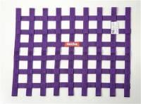 "Ribbon Window Nets - 18"" x 24"" Ribbon Window Nets - RaceQuip - RaceQuip 18"" x 24"" Ribbon Window Net - Purple"