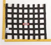 Safety Equipment - Window Nets - RaceQuip - RaceQuip Ribbon Net 18x21 SFI Black
