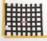 Window Nets - Ribbon Window Nets - RaceQuip - RaceQuip Ribbon Net 18x21 SFI Black
