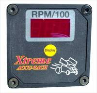 Tachometers - Digital Tachometers - Xtreme Racing Products - Xtreme Accu-Tach Digital Tach - Standard Ignition