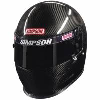 HOLIDAY SAVINGS DEALS! - Simpson Race Products - Simpson Carbon Vudo Pro Helmet - Snell SA2010 / FIA8860