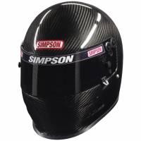 Simpson Race Products - Simpson Carbon Vudo Pro Helmet - Snell SA2010 / FIA8860