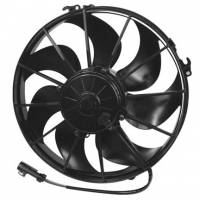 "Electric Fans - SPAL Electric Fans  - SPAL Advanced Technologies - SPAL 12"" Puller Fan Curved Blade - 1870 CFM"