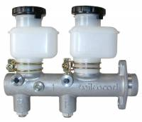 "Wilwood Master Cylinders - Wilwood Tandem Master Cylinders - Wilwood Engineering - Wilwood Tandem Remote Master Cylinder w/Tandem Reservoir - 1.00"" Bore"