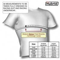 Simpson Hybrid Sizing Chart - Metric