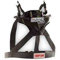 Head & Neck Restraints - Simpson Hybrid - Simpson Race Products - Simpson Hybrid Pro - NASCAR Approved