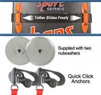 Quick Click Anchors w/ Sliding Tether - SA Helmet
