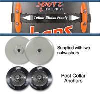 Post Anchor Collars w/ Sliding Tether - SA Helmet