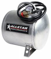Wheels & Accessories - Air Tanks - Allstar Performance - Allstar Performance 2-3/4 Gallon Horizontal Aluminum Air Tank