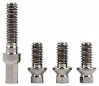 Air and Fuel System Fasteners - Fuel Pump Bolts - Allstar Performance - Allstar Performance Titanium Fuel Pump Bolt Kit