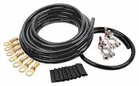 Batteries and Components - Battery Cable Kits - Allstar Performance - Allstar Performance Battery Cable Kit - 4 Gauge - 1 Battery - Black